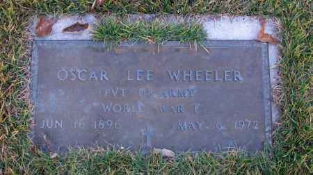 WHEELER (VETERAN WWI), OSCAR LEE - Pope County, Arkansas | OSCAR LEE WHEELER (VETERAN WWI) - Arkansas Gravestone Photos