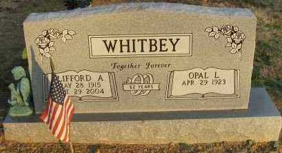 WHITBEY, CLIFFORD A - Pope County, Arkansas | CLIFFORD A WHITBEY - Arkansas Gravestone Photos