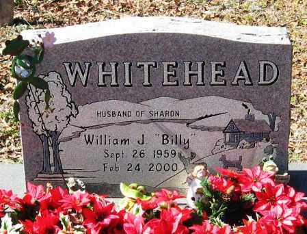 "WHITEHEAD, WILLIAM J. ""BILLY"" - Pope County, Arkansas | WILLIAM J. ""BILLY"" WHITEHEAD - Arkansas Gravestone Photos"