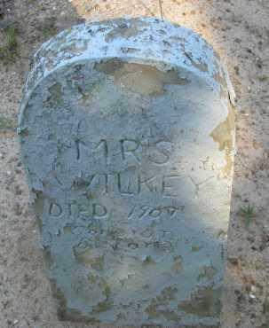 WILKEY, MRS - Pope County, Arkansas | MRS WILKEY - Arkansas Gravestone Photos