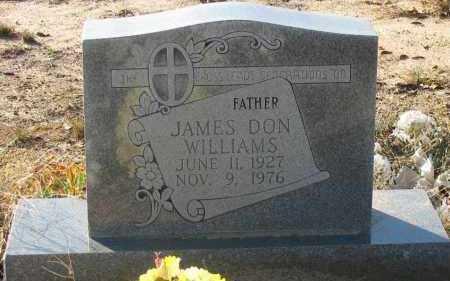 WILLIAMS, JAMES DON - Pope County, Arkansas | JAMES DON WILLIAMS - Arkansas Gravestone Photos