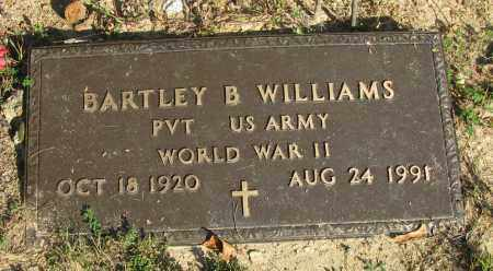 WILLIAMS (VETERAN WWII), BARTLEY B - Pope County, Arkansas | BARTLEY B WILLIAMS (VETERAN WWII) - Arkansas Gravestone Photos