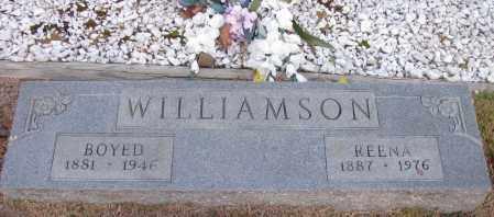 WILLIAMSON, BOYED - Pope County, Arkansas   BOYED WILLIAMSON - Arkansas Gravestone Photos