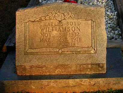 WILLIAMSON, CHARLES BOYD - Pope County, Arkansas | CHARLES BOYD WILLIAMSON - Arkansas Gravestone Photos