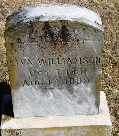 WILLIAMSON, ELVA - Pope County, Arkansas | ELVA WILLIAMSON - Arkansas Gravestone Photos