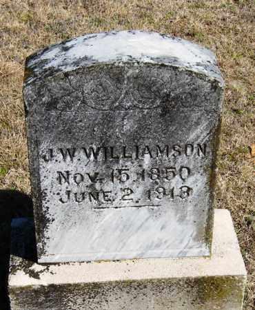 WILLIAMSON, J   W - Pope County, Arkansas | J   W WILLIAMSON - Arkansas Gravestone Photos