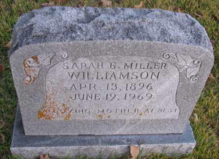MILLER WILLIAMSON, SARAH E - Pope County, Arkansas | SARAH E MILLER WILLIAMSON - Arkansas Gravestone Photos