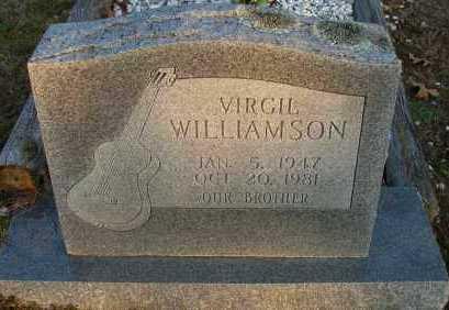 WILLIAMSON, VERGIL - Pope County, Arkansas   VERGIL WILLIAMSON - Arkansas Gravestone Photos