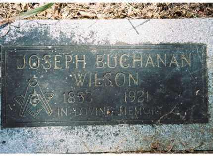 WILSON, JOSEPH BUCHANAN - Pope County, Arkansas | JOSEPH BUCHANAN WILSON - Arkansas Gravestone Photos