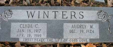 WINTERS, CLYDE C - Pope County, Arkansas | CLYDE C WINTERS - Arkansas Gravestone Photos