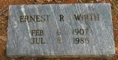 WIRTH, ERNEST R - Pope County, Arkansas   ERNEST R WIRTH - Arkansas Gravestone Photos