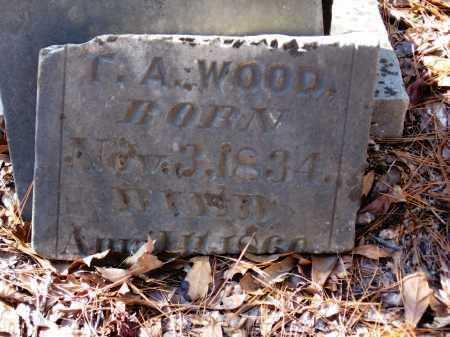 WOOD, T  A - Pope County, Arkansas | T  A WOOD - Arkansas Gravestone Photos