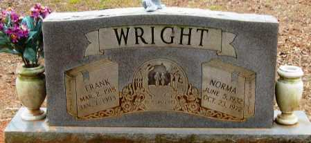 WRIGHT, NORMA - Pope County, Arkansas | NORMA WRIGHT - Arkansas Gravestone Photos
