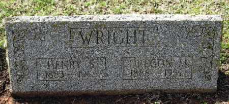 WRIGHT, OREGON M - Pope County, Arkansas   OREGON M WRIGHT - Arkansas Gravestone Photos