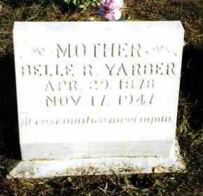 YARBER, BELLE R - Pope County, Arkansas | BELLE R YARBER - Arkansas Gravestone Photos