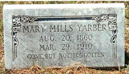 YARBER, MARY - Pope County, Arkansas   MARY YARBER - Arkansas Gravestone Photos