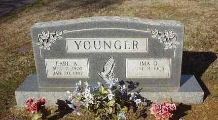 YOUNGER, EARL A - Pope County, Arkansas   EARL A YOUNGER - Arkansas Gravestone Photos