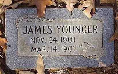 YOUNGER, JAMES - Pope County, Arkansas | JAMES YOUNGER - Arkansas Gravestone Photos