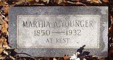 WOODWORTH YOUNGER, MARTHA ANN - Pope County, Arkansas | MARTHA ANN WOODWORTH YOUNGER - Arkansas Gravestone Photos