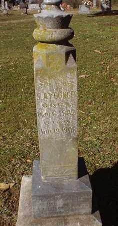 YOUNGER, SAMUEL A - Pope County, Arkansas | SAMUEL A YOUNGER - Arkansas Gravestone Photos