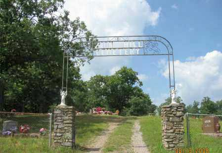 *ZION HILL CEMETERY GATE,  - Pope County, Arkansas |  *ZION HILL CEMETERY GATE - Arkansas Gravestone Photos
