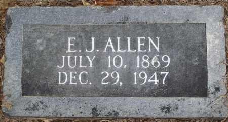 ALLEN, E J - Prairie County, Arkansas | E J ALLEN - Arkansas Gravestone Photos