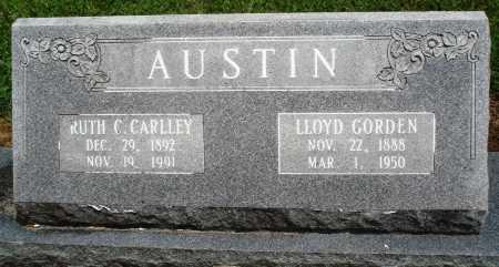 CARLLEY AUSTIN, RUTH C - Prairie County, Arkansas | RUTH C CARLLEY AUSTIN - Arkansas Gravestone Photos