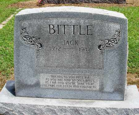 BITTLE, JACK - Prairie County, Arkansas | JACK BITTLE - Arkansas Gravestone Photos