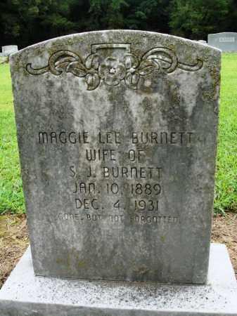 BURNETT, MAGGIE LEE - Prairie County, Arkansas | MAGGIE LEE BURNETT - Arkansas Gravestone Photos