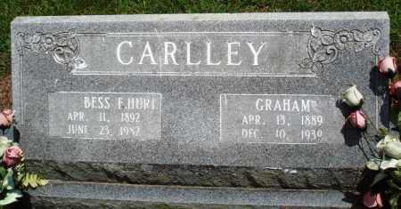 CARLLEY, BESS F - Prairie County, Arkansas | BESS F CARLLEY - Arkansas Gravestone Photos