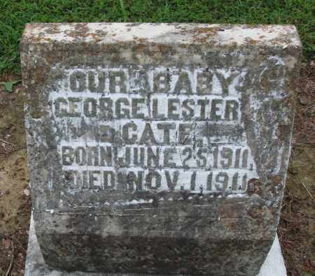 CATE, GEORGE LESTER - Prairie County, Arkansas | GEORGE LESTER CATE - Arkansas Gravestone Photos