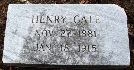 CATE, HENRY - Prairie County, Arkansas | HENRY CATE - Arkansas Gravestone Photos