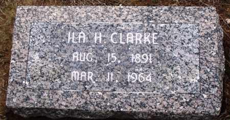 CLARKE, ILA H - Prairie County, Arkansas   ILA H CLARKE - Arkansas Gravestone Photos