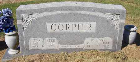 "CORPIER, W.J. ""BILL"" - Prairie County, Arkansas | W.J. ""BILL"" CORPIER - Arkansas Gravestone Photos"