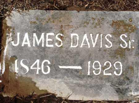 DAVIS, SR, JAMES - Prairie County, Arkansas   JAMES DAVIS, SR - Arkansas Gravestone Photos