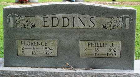 EDDINS, FLORENCE F - Prairie County, Arkansas | FLORENCE F EDDINS - Arkansas Gravestone Photos