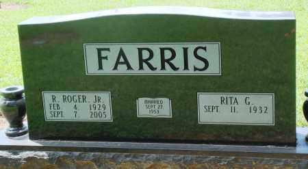 FARRIS, JR, R ROGER - Prairie County, Arkansas | R ROGER FARRIS, JR - Arkansas Gravestone Photos