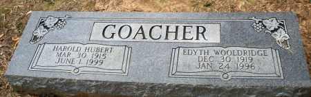 GOACHER, EDYTH - Prairie County, Arkansas | EDYTH GOACHER - Arkansas Gravestone Photos