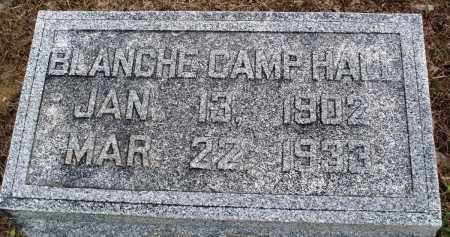 CAMP HALL, BLANCHE - Prairie County, Arkansas | BLANCHE CAMP HALL - Arkansas Gravestone Photos