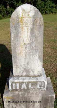 HALL, OSCAR - Prairie County, Arkansas   OSCAR HALL - Arkansas Gravestone Photos