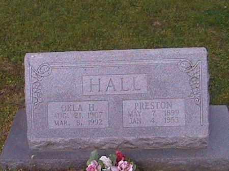 HALL, PRESTON - Prairie County, Arkansas   PRESTON HALL - Arkansas Gravestone Photos