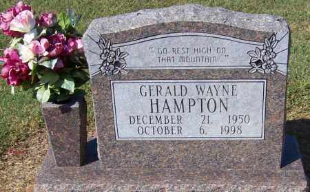HAMPTON, GERALD WAYNE - Prairie County, Arkansas | GERALD WAYNE HAMPTON - Arkansas Gravestone Photos