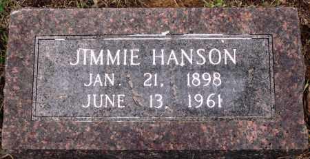 HANSON, JIMMIE - Prairie County, Arkansas | JIMMIE HANSON - Arkansas Gravestone Photos