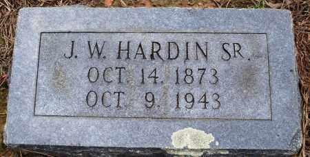 HARDIN, SR, J W - Prairie County, Arkansas | J W HARDIN, SR - Arkansas Gravestone Photos