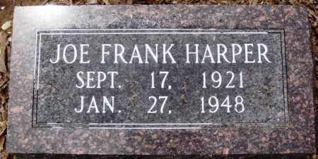 HARPER, JOE FRANK - Prairie County, Arkansas   JOE FRANK HARPER - Arkansas Gravestone Photos