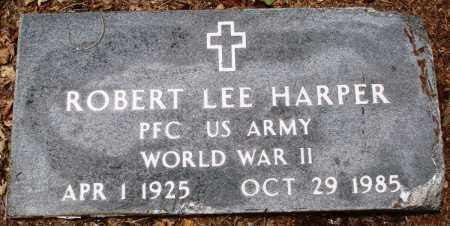 HARPER (VETERAN WWII), ROBERT LEE - Prairie County, Arkansas | ROBERT LEE HARPER (VETERAN WWII) - Arkansas Gravestone Photos