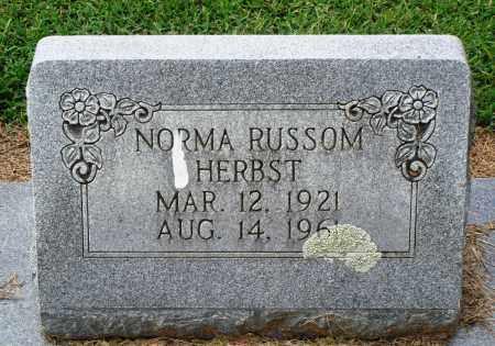 HERBST, NORMA - Prairie County, Arkansas | NORMA HERBST - Arkansas Gravestone Photos