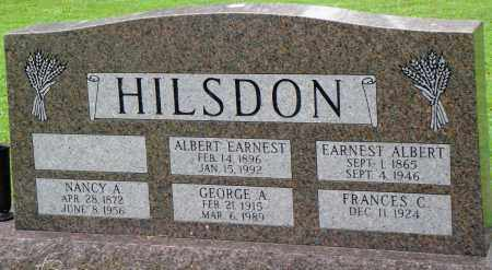 HILSDON, GEORGE A - Prairie County, Arkansas | GEORGE A HILSDON - Arkansas Gravestone Photos