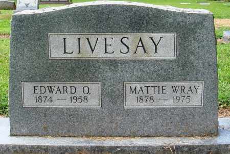 LIVESAY, MATTIE - Prairie County, Arkansas | MATTIE LIVESAY - Arkansas Gravestone Photos