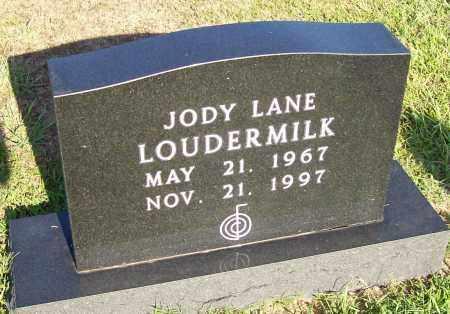 LOUDERMILK, JODY LANE - Prairie County, Arkansas | JODY LANE LOUDERMILK - Arkansas Gravestone Photos